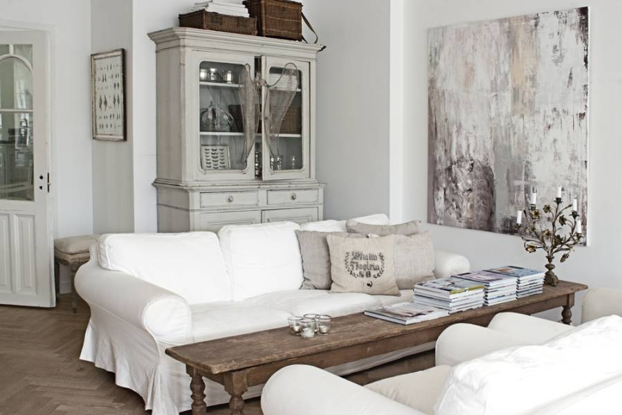 Am nagement d coration maison style campagne chic for Mode deco maison