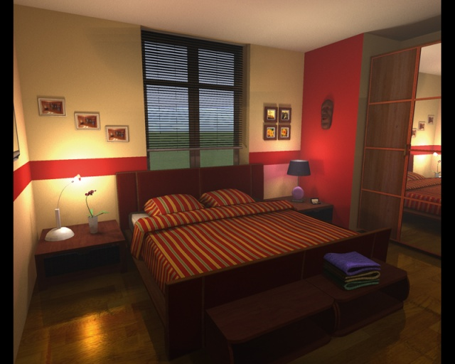 Stunning Chambre Adulte Rouge Et Beige Pictures - Matkin.info ...
