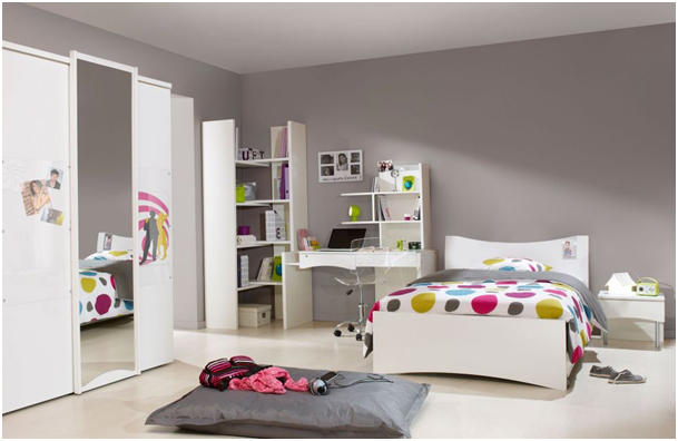 d co chambre jeune adulte fille. Black Bedroom Furniture Sets. Home Design Ideas