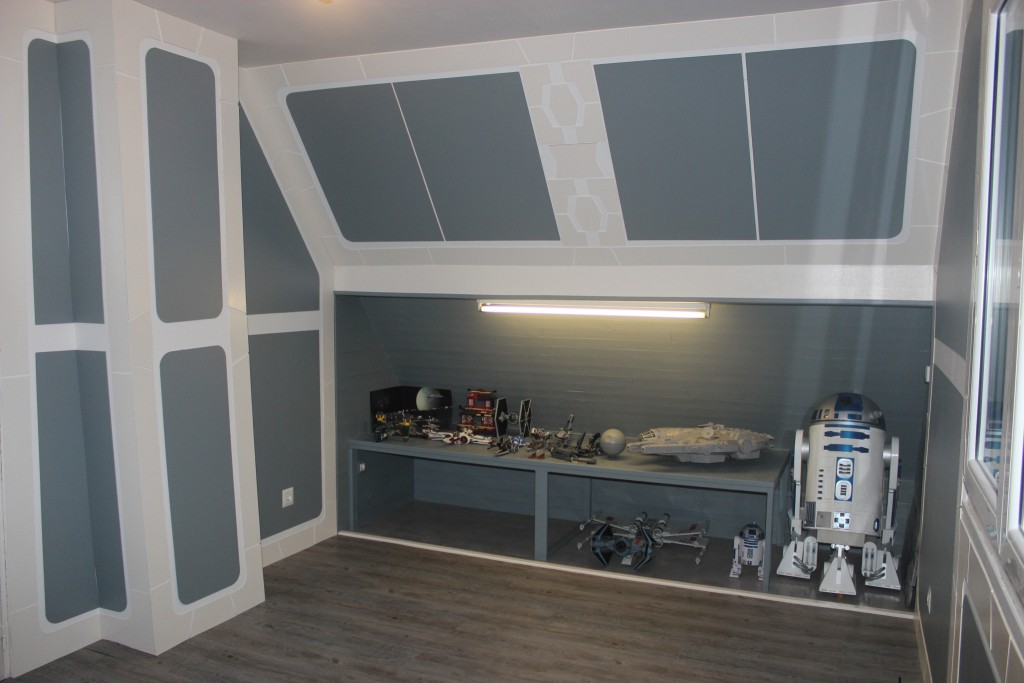 conseils d coration chambre star wars. Black Bedroom Furniture Sets. Home Design Ideas