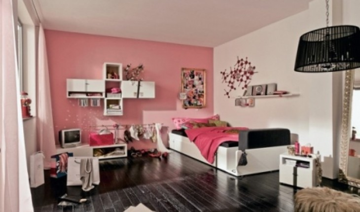 d co chambre ado contemporaine. Black Bedroom Furniture Sets. Home Design Ideas