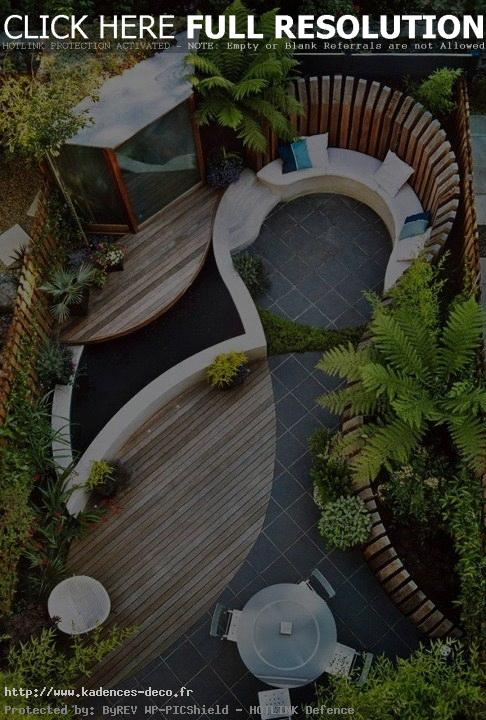Inspiration d co terrasse design for Deco terrasse design