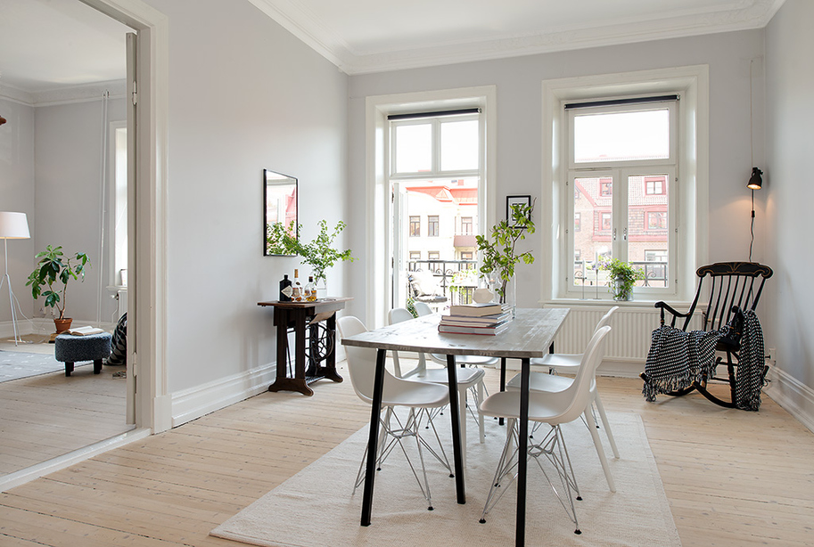 Astuces d co appartement ancien moderne for Idee deco appartement moderne