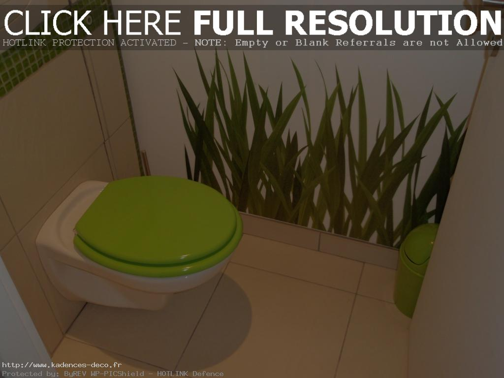 R novation d co wc nature for Decoration wc peinture