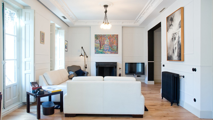 Am nagement d co appartement haussmannien design for Cuisine design appartement haussmannien