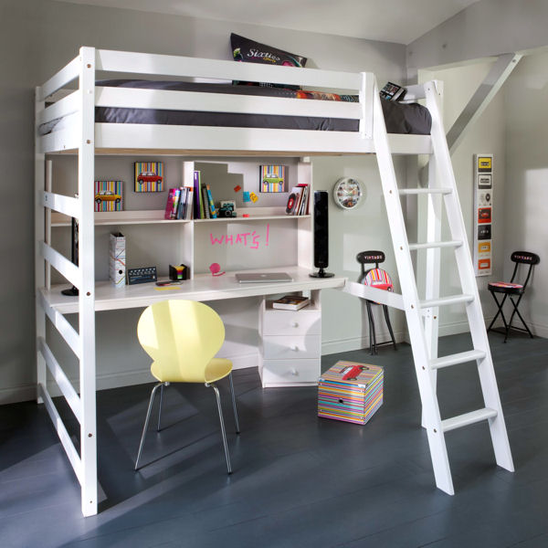 Am nagement d co chambre lit mezzanine for Amenagement deco