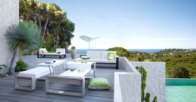 chantier d coration terrasse exterieure maison. Black Bedroom Furniture Sets. Home Design Ideas