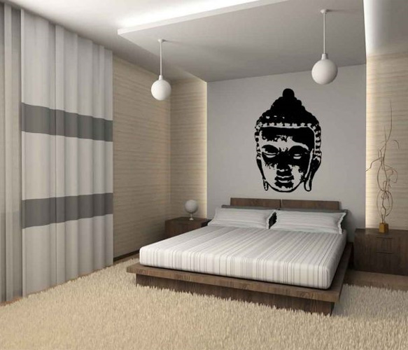 D co zen chambre for Decoration chambre epuree