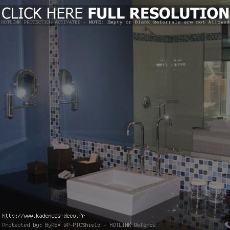Emejing Decoration Salle De Bain Bleu Ideas - Yourmentor.info ...