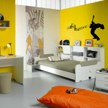 conseils d co chambre enfant pop. Black Bedroom Furniture Sets. Home Design Ideas
