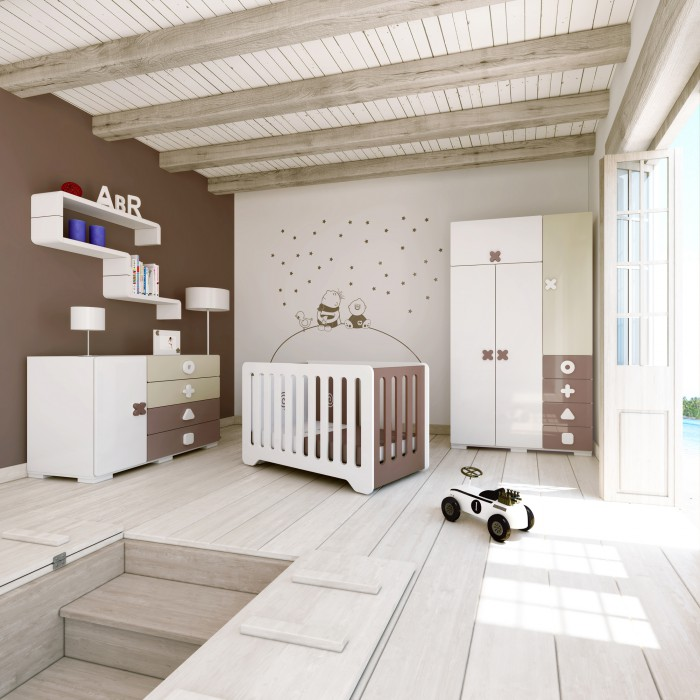 mod le d coration chambre enfant chocolat. Black Bedroom Furniture Sets. Home Design Ideas