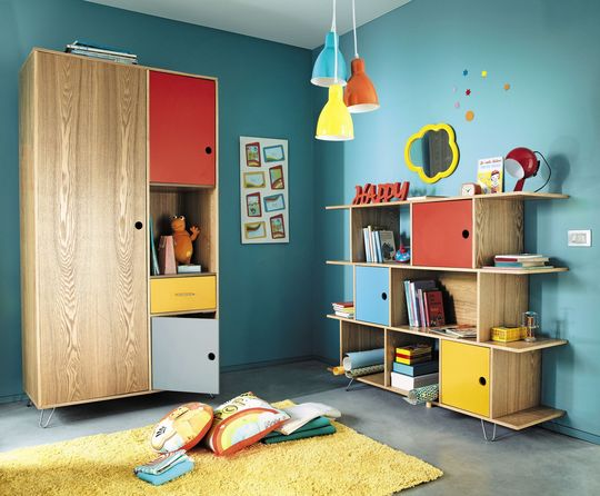 travaux d co chambre enfant pop. Black Bedroom Furniture Sets. Home Design Ideas