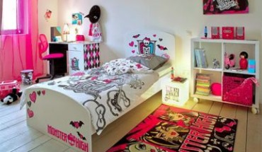 déco chambre monster high