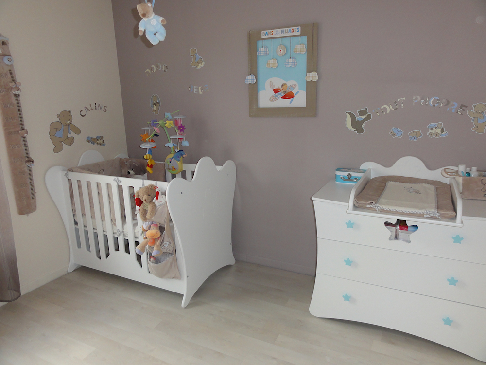 D co chambre gar on b b for Chambre enfant design