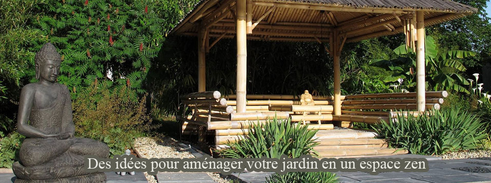 Deco exterieur jardin zen for Amenagement zen