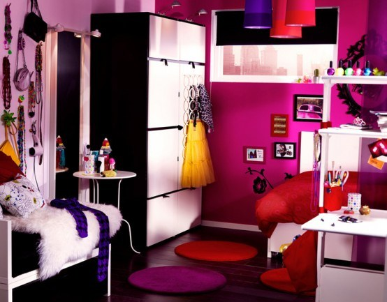 belle d co chambre ado fille 16 ans. Black Bedroom Furniture Sets. Home Design Ideas