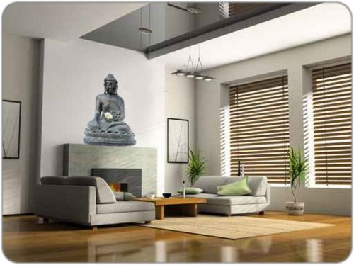 d co salon zen bouddha. Black Bedroom Furniture Sets. Home Design Ideas