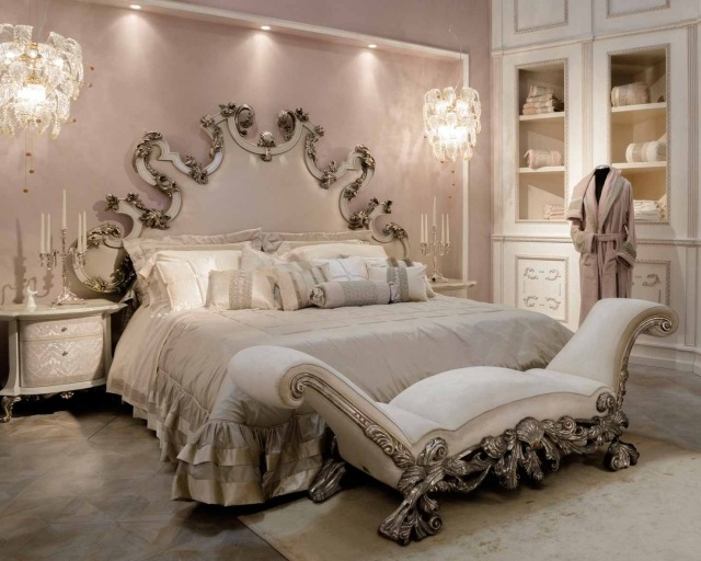 deco chambre baroque moderne. Black Bedroom Furniture Sets. Home Design Ideas