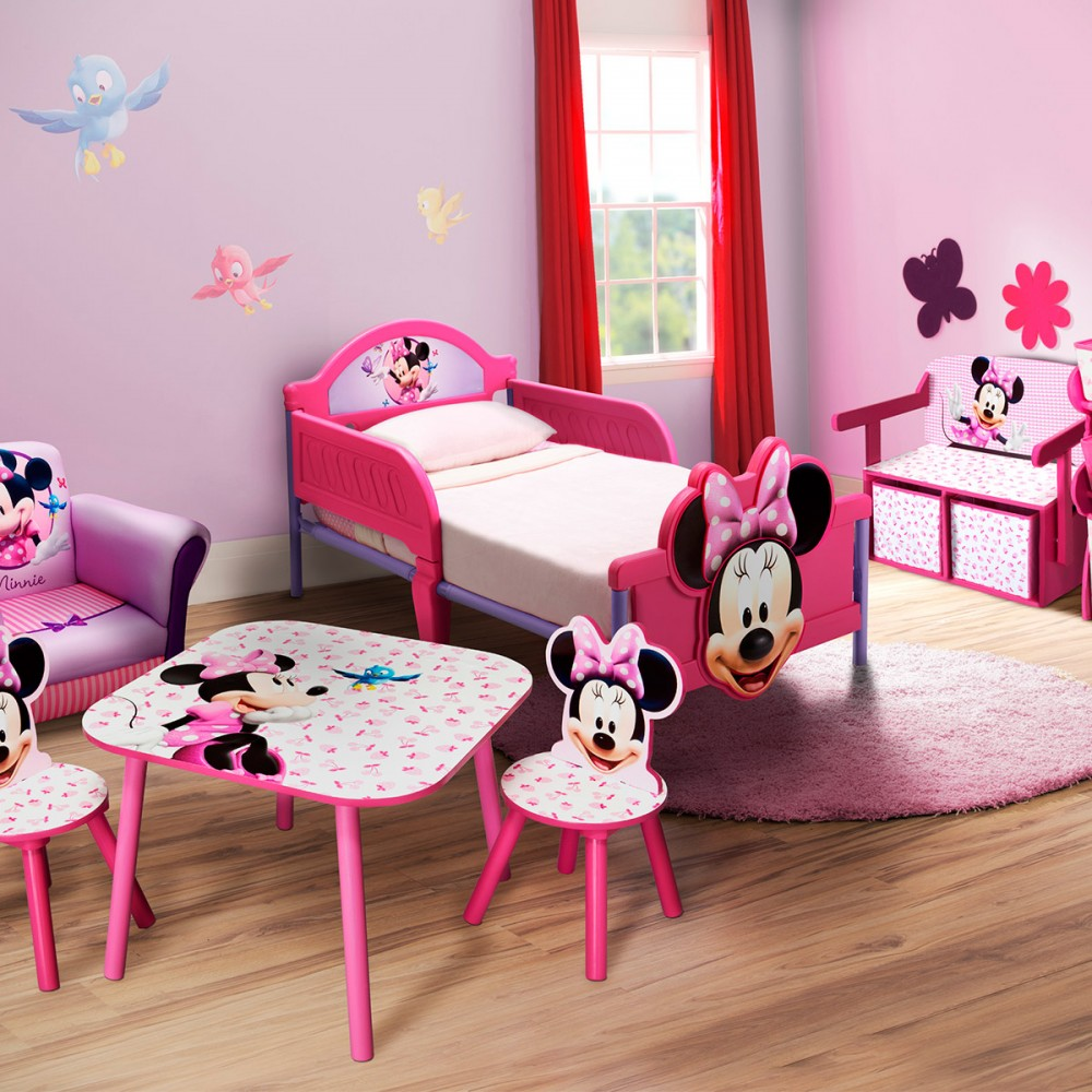 conseils d coration chambre minnie. Black Bedroom Furniture Sets. Home Design Ideas