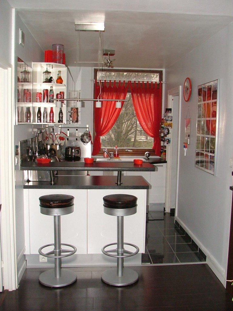 Am nagement d coration cuisine am ricaine for Decoration interieur cuisine ouverte