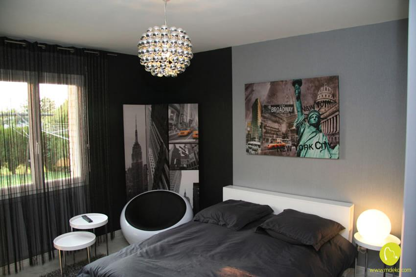 D co chambre new york adulte - Style new york deco ...