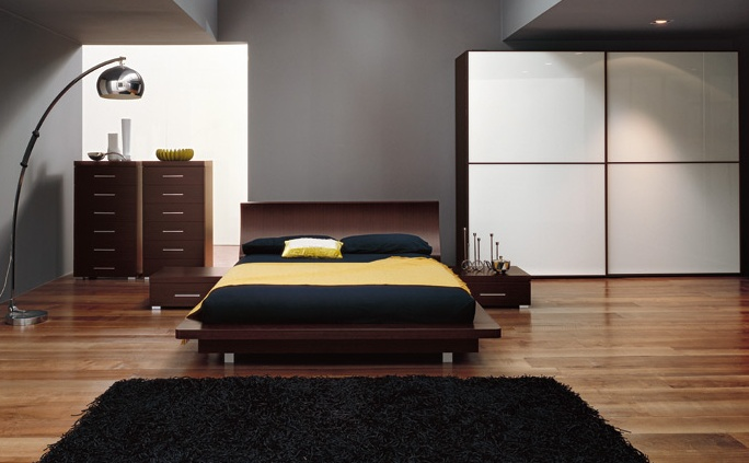 chantier d co chambre contemporaine. Black Bedroom Furniture Sets. Home Design Ideas