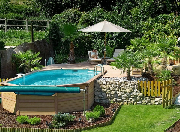 chantier d co jardin autour d 39 une piscine. Black Bedroom Furniture Sets. Home Design Ideas