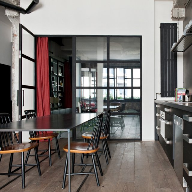 Conseils d co appartement style industriel for Appartement deco bistrot