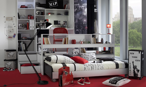 d co maison style new york. Black Bedroom Furniture Sets. Home Design Ideas
