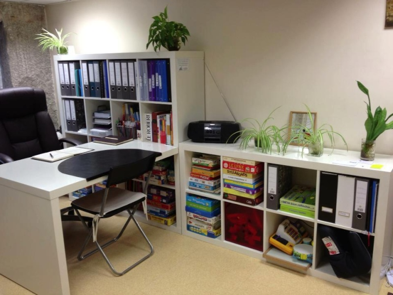 Astuces d co bureau orthophoniste - Decoration de bureau maison ...