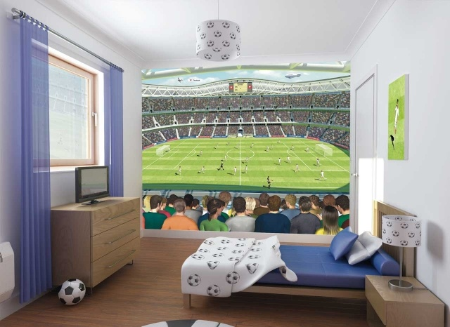 d co chambre football. Black Bedroom Furniture Sets. Home Design Ideas