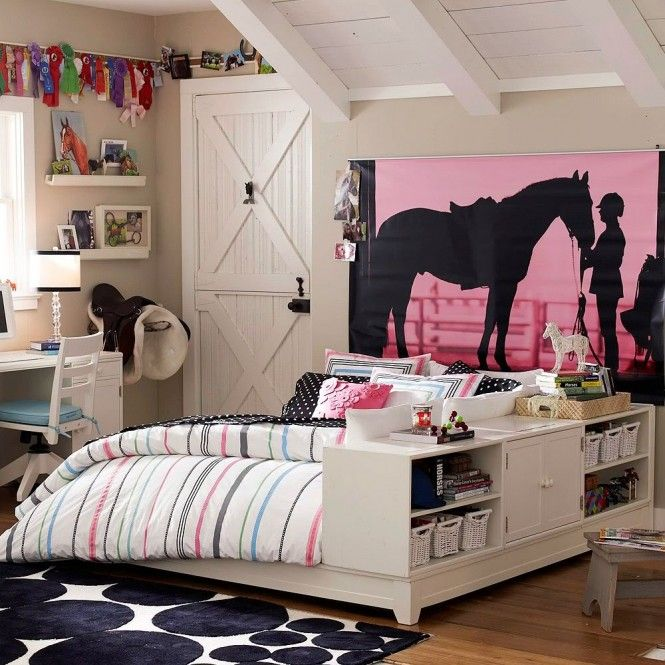 chantier d coration chambre de fille ado. Black Bedroom Furniture Sets. Home Design Ideas