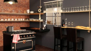 conseils d co cuisine new york. Black Bedroom Furniture Sets. Home Design Ideas