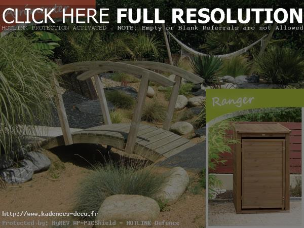 d co jardin petit pont de bois. Black Bedroom Furniture Sets. Home Design Ideas