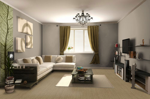 d co salon taupe et lin. Black Bedroom Furniture Sets. Home Design Ideas