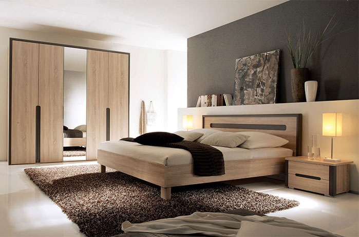 d co chambre moderne adulte. Black Bedroom Furniture Sets. Home Design Ideas