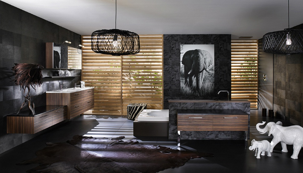 conseils d co salle de bain exotique. Black Bedroom Furniture Sets. Home Design Ideas