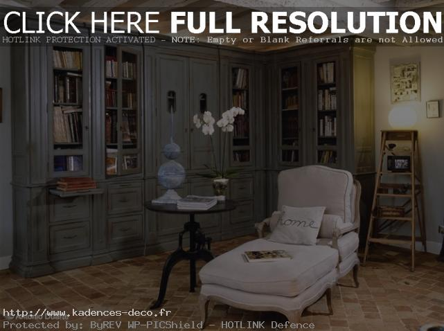 d coration biblioth que murale salon actuelle. Black Bedroom Furniture Sets. Home Design Ideas