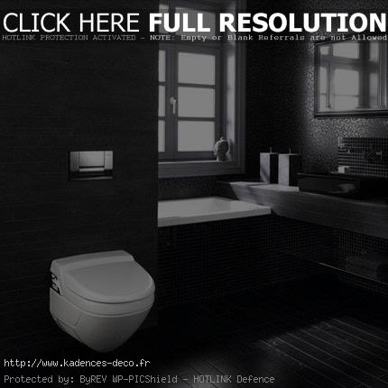 inspiration salle de bain noir. Black Bedroom Furniture Sets. Home Design Ideas