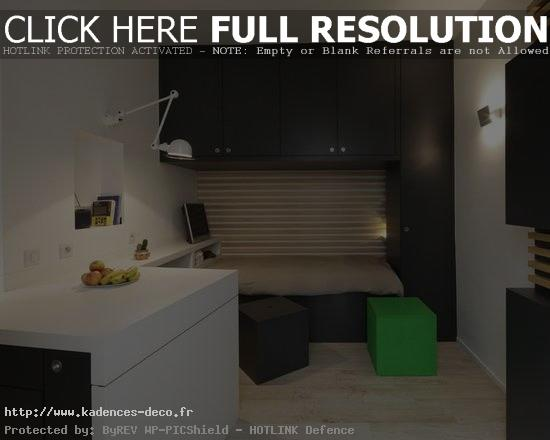 Id e d co studio 15m2 - Idees deco studio ...