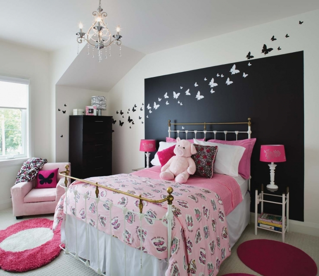 d coration chambre fillette 7 ans. Black Bedroom Furniture Sets. Home Design Ideas