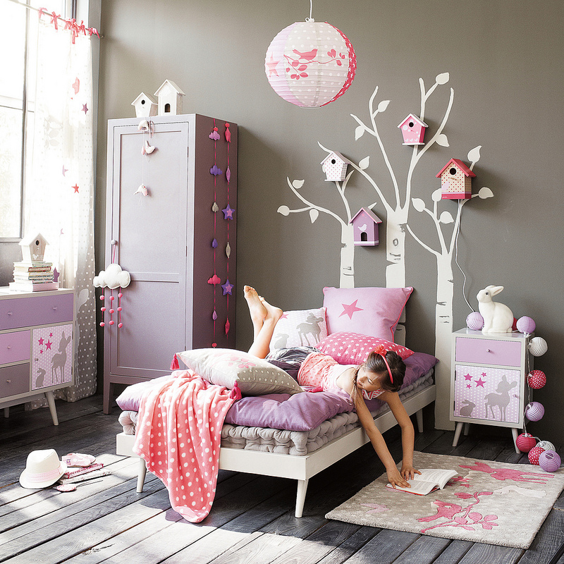 conseils d co chambre fille 7 ans. Black Bedroom Furniture Sets. Home Design Ideas