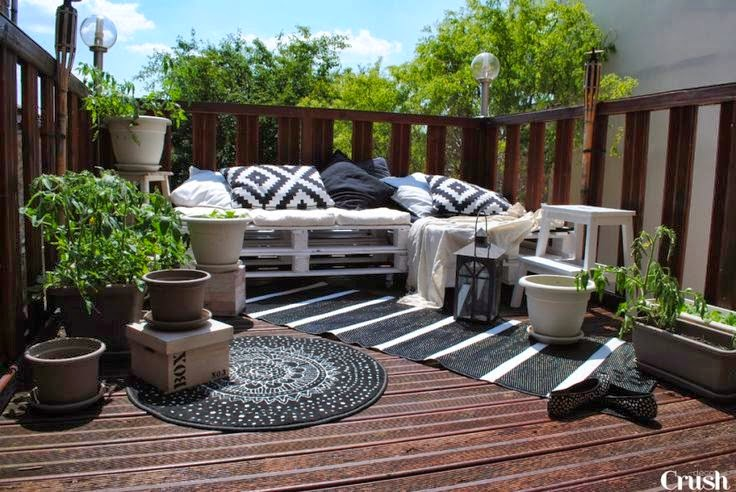 am nagement d co terrasse balcon. Black Bedroom Furniture Sets. Home Design Ideas