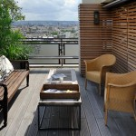 déco terrasse taupe