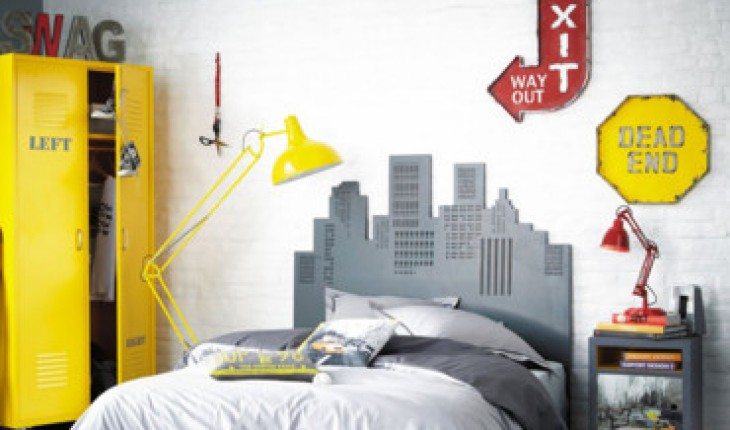 D co chambre new york ikea for Decoration new york chambre