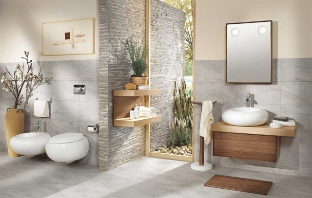 D co salle de bain zen for Photo salle de bain zen